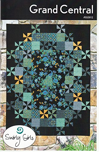 (Grand Central Quilt Pattern by Swirly Girls Designs 60