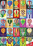 hot air balloon puzzle - Hot Air Balloons 1000 Piece Jigsaw Puzzle Bright World Cities backgrounds