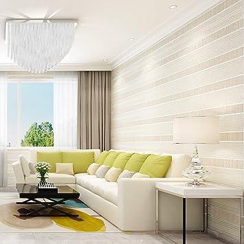 Zyy Modern Streifen Tapete Einfache Farbe Nicht Gewebt Horizontal Vertikal  Zum Fernseher Hintergrundwand Leben Zimmer Schlafzimmer