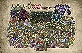 "CGC Huge Poster - Chrono Trigger Super Nintendo DS - EXT010 (24"" x 36"" (61cm x 91.5cm))"
