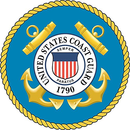 MAGNET United States Coast Guard Seal 3.8 Inch Magnetic Sticker Decal