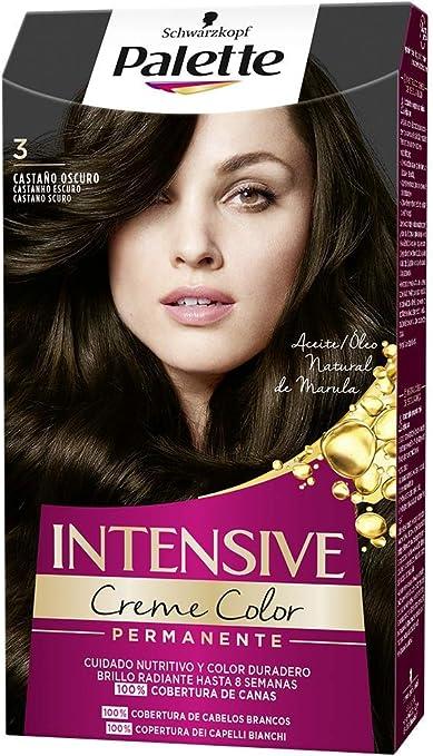 Schwarzkopf Palette Intensive Creme Color – Tono 3 cabello ...