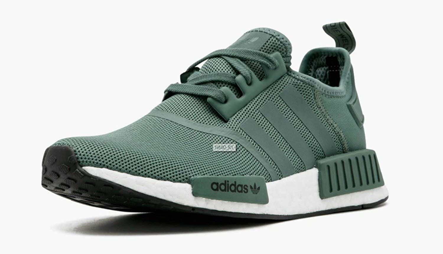 adidas NMD_r1 W, Chaussures de Fitness Femme Vert Trace Green Trace Green Turbo