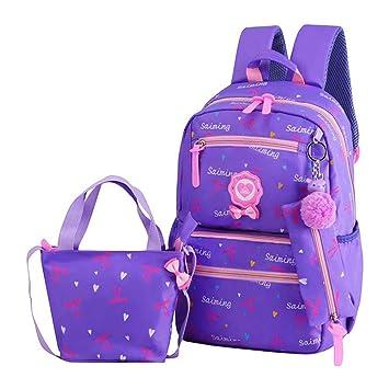 Backpack,Mochilas Escolares,Mujer Mochila Escolar,Lona Bolsa Casual Para Chicas Bolsa De Hombro Mensajero Billetera de Beatie: Amazon.es: Bricolaje y ...