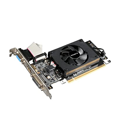 Gigabyte GV-N710D3-2GL REV2.0 - Tarjeta gráfica NVIDIA GeForce GT 710 954 MHz, 2048 MB, PCI Express