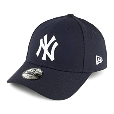 New Era Kids 9FORTY New York Yankees Baseball Cap - League - Navy YOUTH ADJ 2a20273ad336