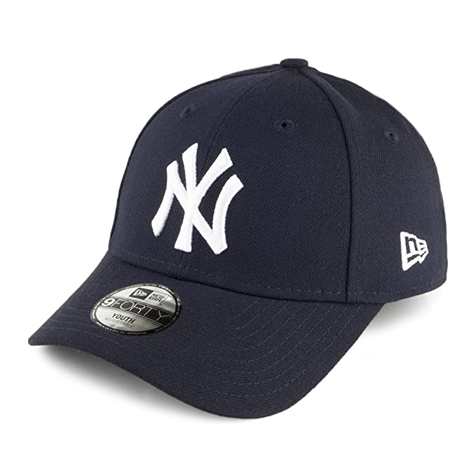 Gorra béisbol niño 9FORTY League N.Y.Yankees New Era Kids-Azul Marino -  Juvenil ajustable  Amazon.es  Ropa y accesorios a910b596f5e