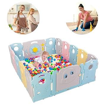 1a18b1970 Amazon.com   JOYMOR Baby BPA-Free Safety Extra Larger 16 Panels ...