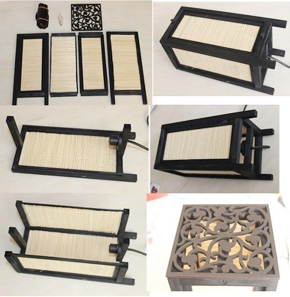 Thai Vintage Handmade ASIAN Oriental Japanese Dawning Sunset Bedside Floor  or Table Lamp Shades Decor - Japanese Lump - Amazon.com