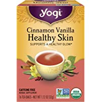 Yogi Tea, Cinnamon Vanilla Healthy Skin, 16 Count, Packaging May Vary