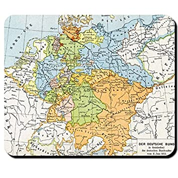 Map Of Germany 1815.1815 Map Map Prussia Hesse Bavaria Germany Hannover Germany