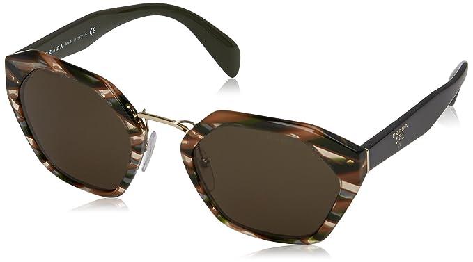 2a10e4a775d4 Amazon.com  Prada Women s Hexagon Sunglasses