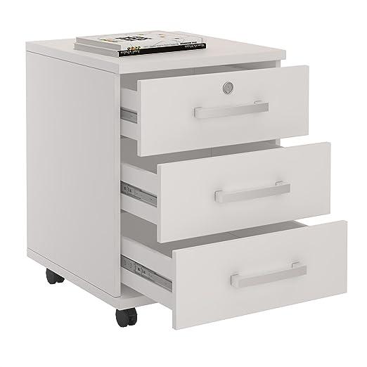 CARO-Möbel Rollcontainer Bürocontainer Büroschrank VANCOUVER, in ...