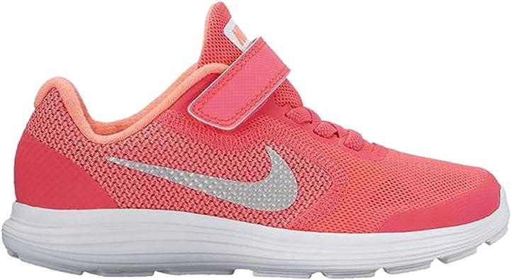 Nike - Performancerevolution 3 - Scarpe Running neutre - Racer Pink/White/Lava Glow: Amazon.es: Zapatos y complementos