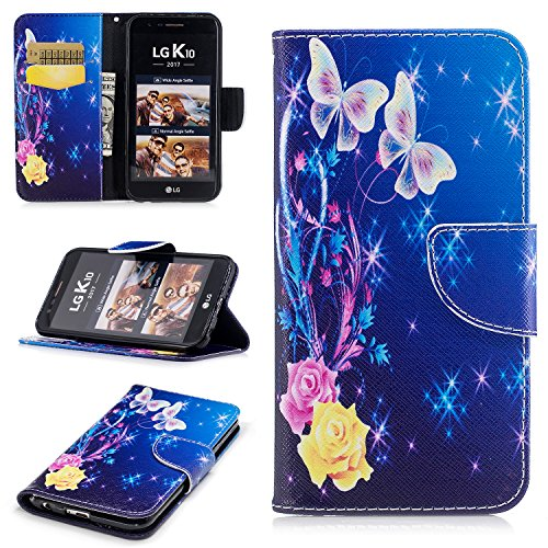Click to buy LG K20 V Case, LG K20 Plus Case, LG Harmony Case, LG V5 Case, LG K10 2017 Case, Fisel PU Leather Wallet [Kickstand Feature] Book Design with ID Credit Card Money Pockets Magnetic Closure Cover - From only $4.49