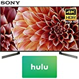 Sony XBR55X900F 55-Inch 4K Ultra HD Smart LED TV (2018 Model) with Hulu $50 Gift Card