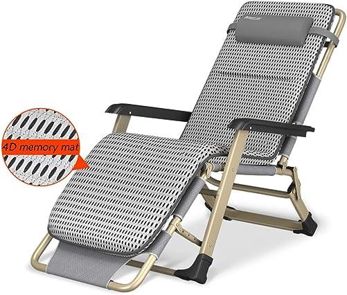 HYDT Portable Folding Reclining Chair