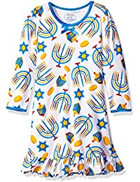 Girls' Whirl and Twirl Long Sleeve Nightgown