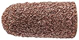 PFERD 46056 Policap Abrasive Cap, Shape L, Aluminum Oxide A, 7/16'' Diameter x 1'' Length, 60 Grit (Pack of 50)