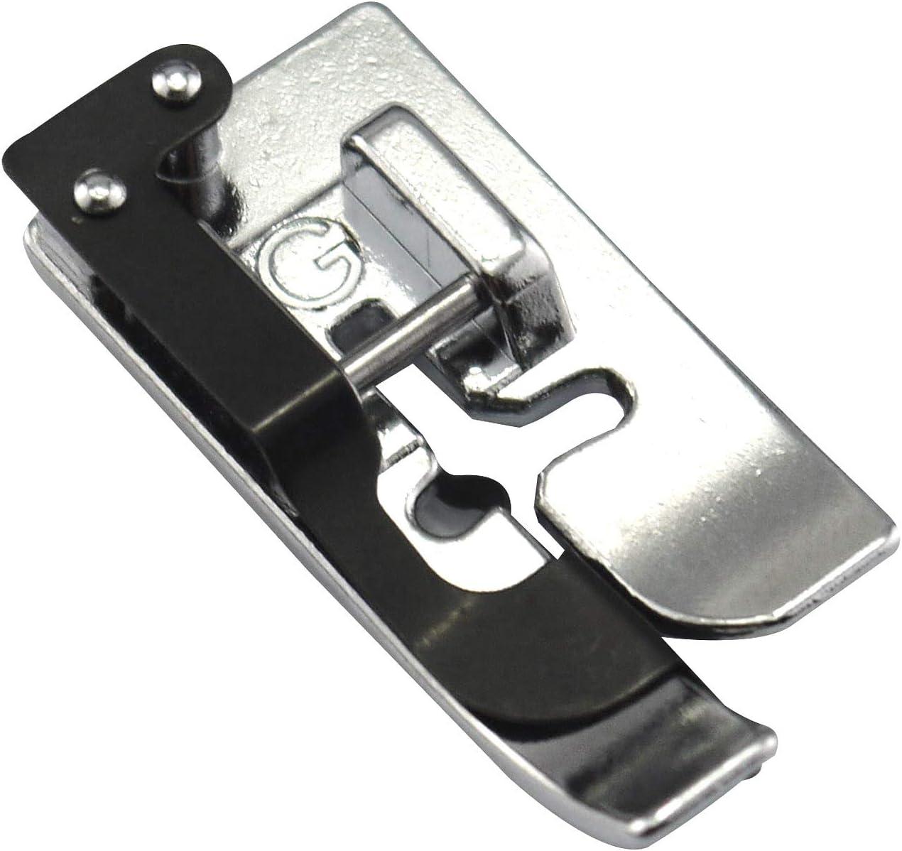 DREAMSTITCH 825817009 Prensatelas para dobladillo ciego de 7 mm para Elna, Janome, Necchi 825817009: Amazon.es: Hogar