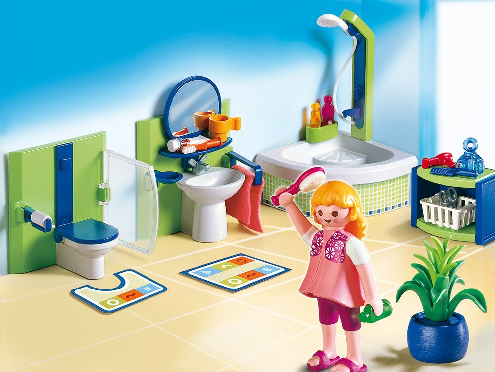 Schön Amazon.de:Playmobil 4285   Bad Mit Eckwanne