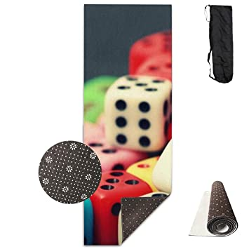 Amazon.com: Rainbow Dice Yoga Mat - Advanced Yoga Mat - Non ...