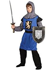 Kids Boys Medieval Knight Fancy Dress Costume (5-7 years)