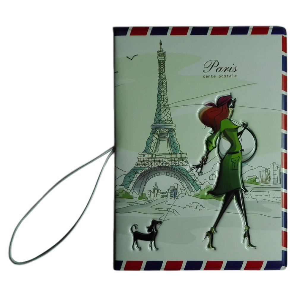 /Étui pour passeport Miss Love Travel 1 Cuir