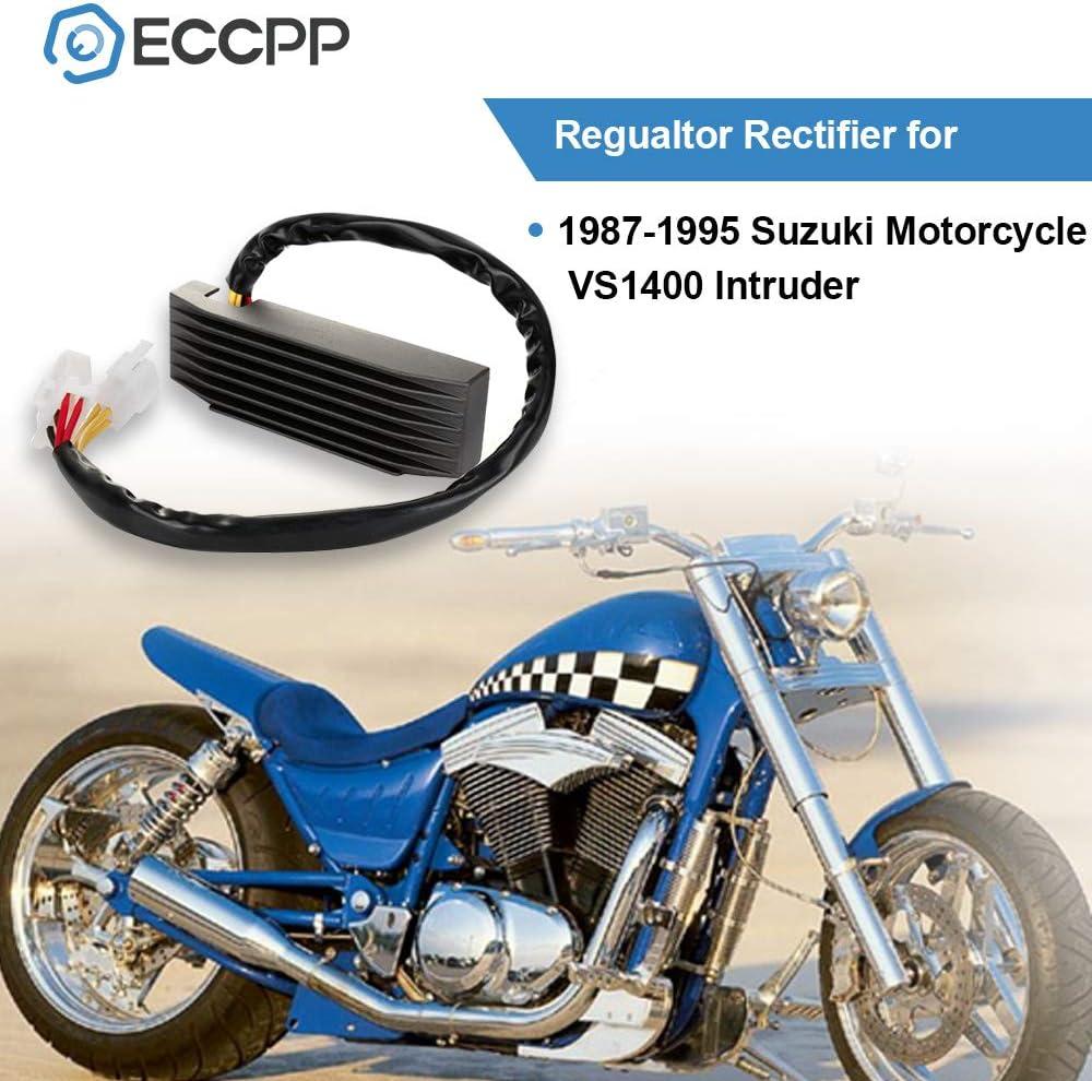 OCPTY Voltage Regulator Rectifier Fits 1987 1988 1989 1990 1991 1992 1993 1994 1995 Suzuki Motorcycle VS1400 Intruder