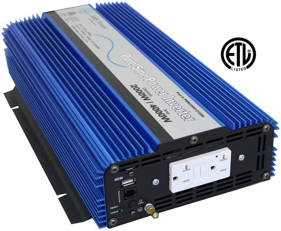 Best 2000 Watt Pure Sine Wave Inverter