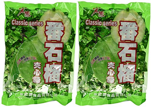 Bai Chuan HongYuan Classic Series Hard Candy (Guava Flavor) - 350 grams (Pack of 2)