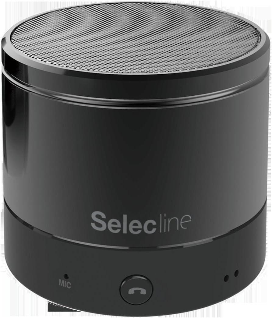 Selecline 851055 Mono Portable Speaker 3W Negro Altavoz portátil ...