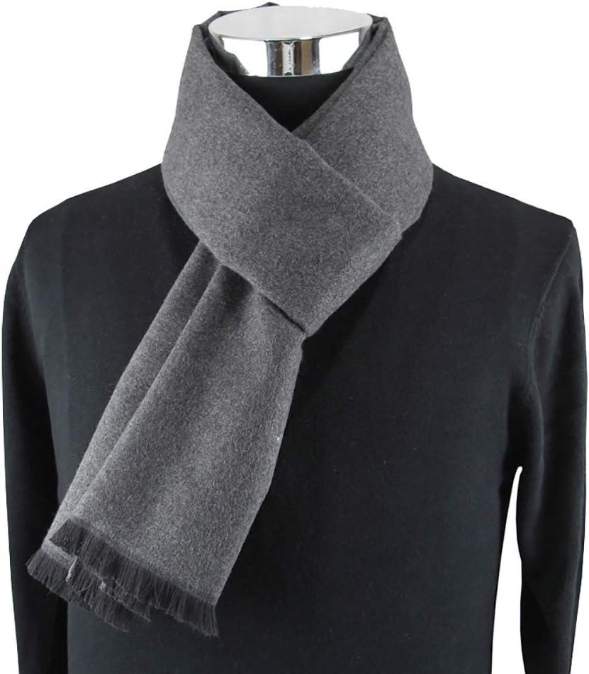 HONGkeke Mens Autumn Winter Warm Scarf Striped Grid Neckerchief Tartan Scarves Paisley Bandannas Bandelet 18030cm for Men Long Shawls Fashion Durable Color : 3, Size : 18030CM