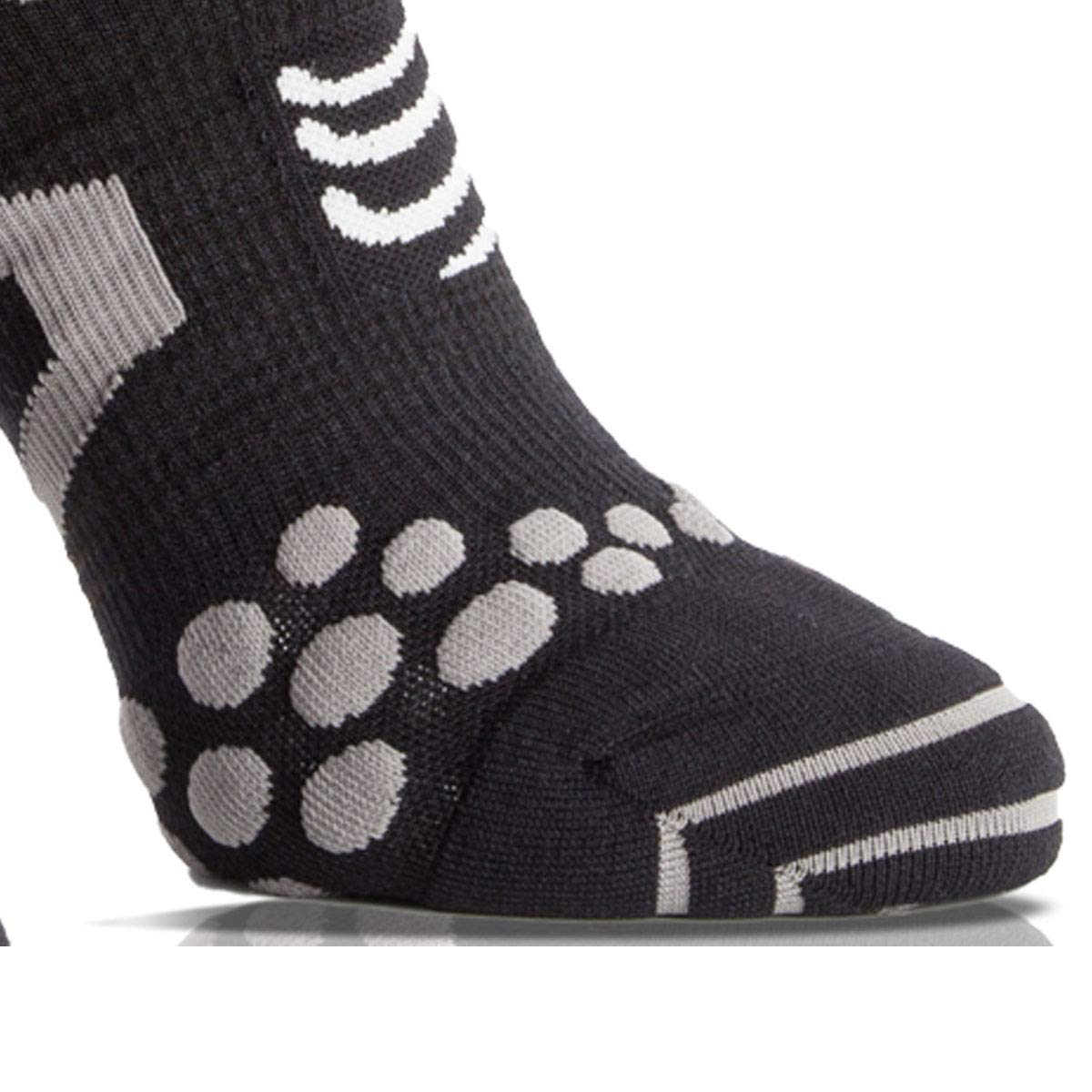 PRO RACING V2.1 WINTER TRAIL Gris Chaussettes COMPRESSPORT
