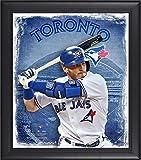 "Best Sports Memorabilia Sports Memorabilia Collage Makers - Josh Donaldson Toronto Blue Jays Framed 15"" x Review"