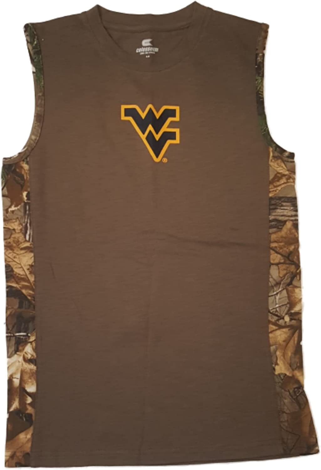 M Colosseum West Virginia Mountaineers Youth Boys Realtree Tank Top 12-14