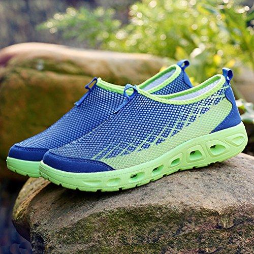 de XIGUAFR caño botas bajo Azul Unisex adulto TaAxwqFva