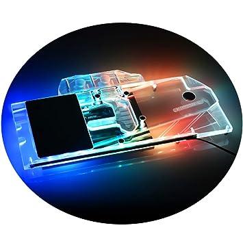 Amazon.com: GPU enfriador líquido de cobre bloque de agua G1 ...