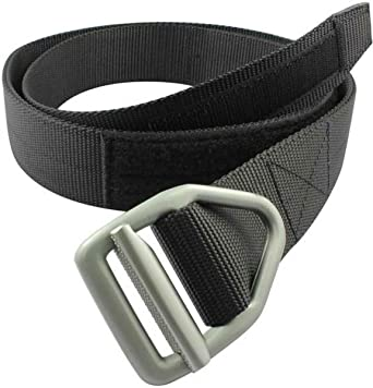 Bison Designs 38mm wide Light Duty Last Chance Belt with Gunmetal Buckle