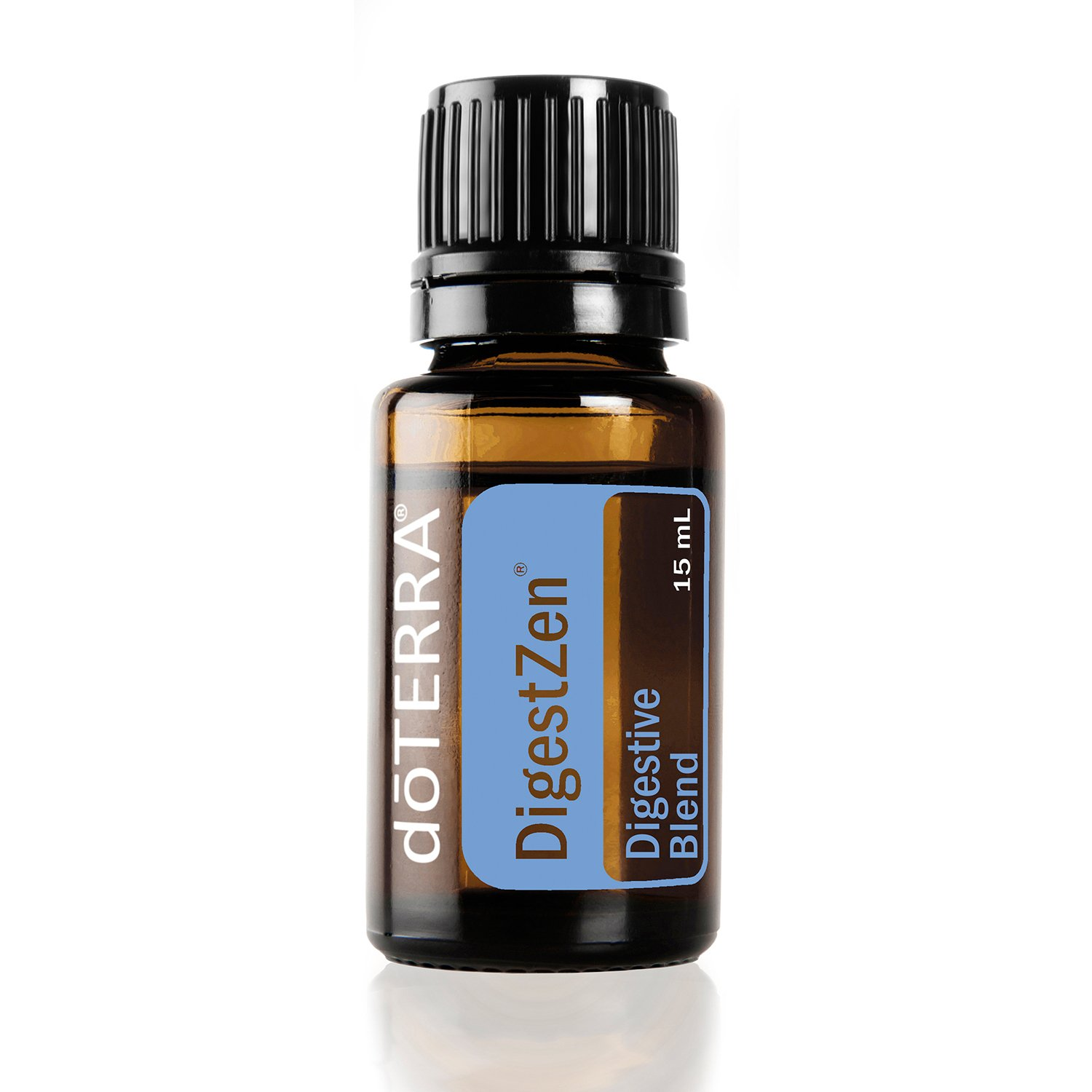 doTERRA - DigestZen Essential Oil Digestive Blend - Supports Healthy Digestion, May Help Reduce Bloating, Gas, and Occasional Indigestion; for Diffusion, Internal, or Topical Use - 15 mL by DoTerra