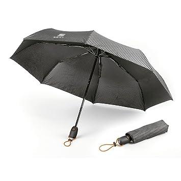 Paraguas de bolsillo negro y naranja, 6H1087600 GAA