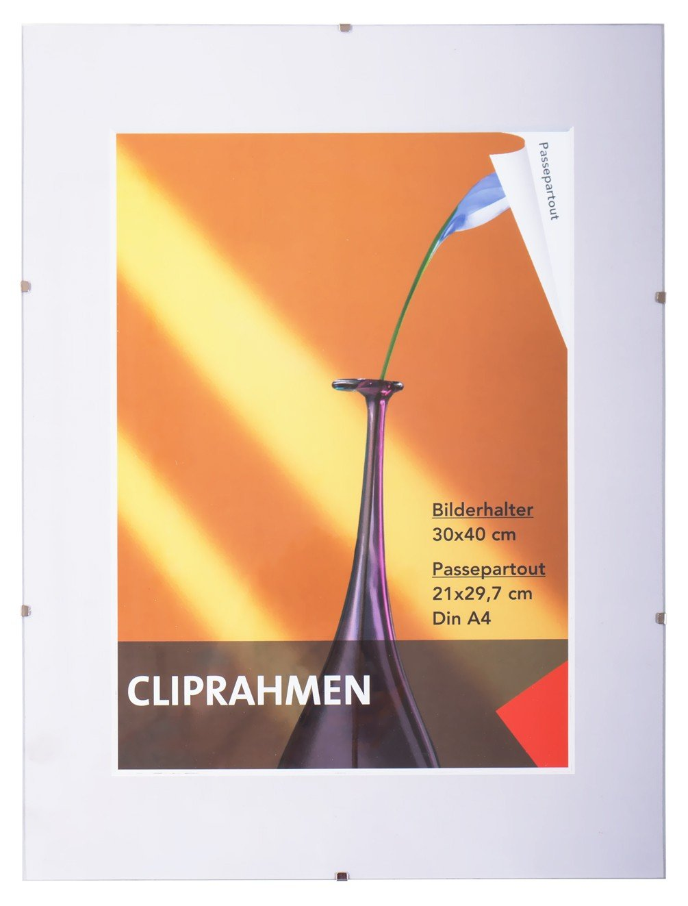 Amazon.de: Rahmenlos Bilderhalter Bilderrahmen 30x40 cm