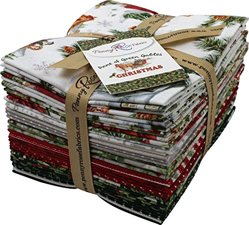 Anne of Green Gables Christmas 18 Fat Quarters Penny Rose Fabrics by Penny Rose Fabrics