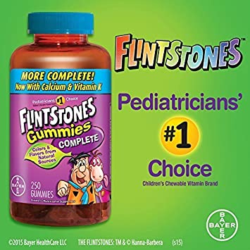 Flintstones Gummies Complete Vitamin Supplement (250 ct.) by Flintstones  Vitamins