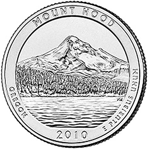 2010 S Silver Proof Mount Hood Oregon National Forest NP Quarter Choice Uncirculated US Mint