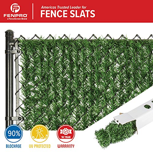 Fenpro Hedge Slats for Chain Link Fence (5 Ft.)
