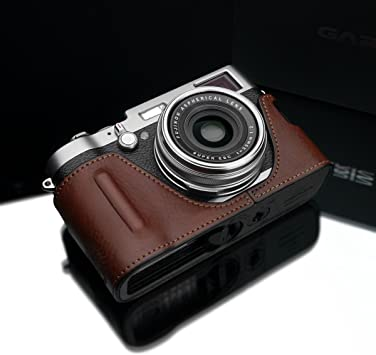 Black Gariz Black Label Genuine Leather BL-LCTBK Half Case for Leica T