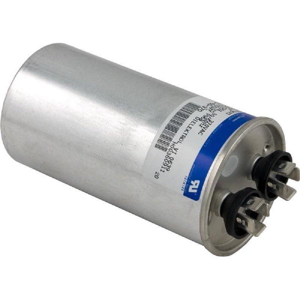 Run Capacitor 50 MFD, 370v, 2'' x 3-3/4''