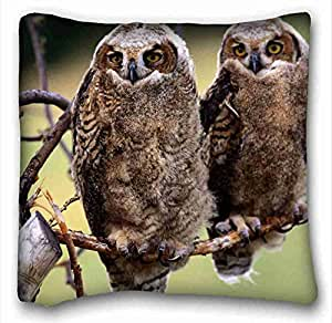 "Custom Characteristic Animal DIY Pillow Cover Size 16""X16"" suitable for Twin-bed"