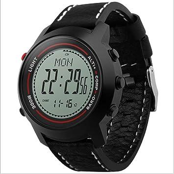 LHFJ Reloj Deportivo Resistente al Agua Militar Relojes Digitales Reloj Grande para Hombres con retroiluminación para Actividades al Aire Libre (Color ...